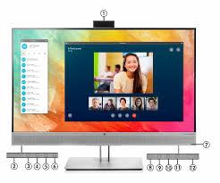 <b>HP EliteDisplay E273m 27</b>-inch Monitor