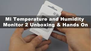 <b>Xiaomi Mijia Bluetooth</b> Thermometer 2 Unboxing - YouTube