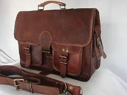 <b>Laptop</b> messenger <b>bag Leather</b> handbag for women Men vintage ...