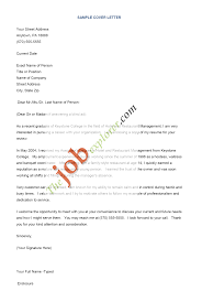 sample cover letter for resume com sample cover letter for resume and get inspiration to create a good resume 7