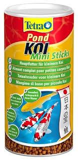 Сухой <b>корм</b> для рыб <b>Tetra Pond Koi</b> Mini Sticks — купить по ...