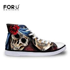 forudesigns african pattern women sneakers flats high top canvas black lace up vulcanized shoes classic students shoes zapatos