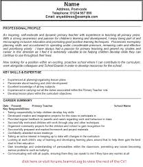 Free Special Education Teacher Resume Templates   Resume   free resume templates for teachers