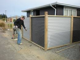 patio roof sheeting installation corrugated metal fence panels fences more
