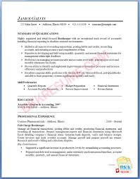 bookkeeper resume samples 14 eager world annamua