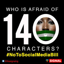 Image result for photos to say notosocialmediabill