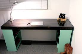 cool diy desk with bookshelf legs diy office desks for the modern home home design decor amazing diy office desk