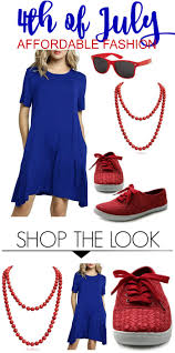 <b>Casual Summer</b> Outfit for the 4th of <b>July</b>!