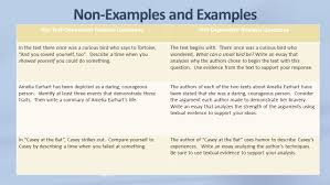 tredyffrin easttown school district th grade ppt 4 non examples and examples