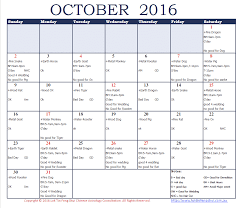 good days and bad days in october 2016 chi yung office feng shui