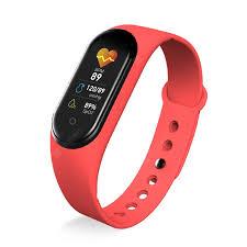 <b>LEEHUR M5 Smart Watch</b> Men Women Heart Rate Monitor Blood ...