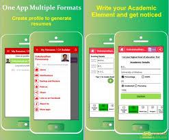 my resume builder cv jobs app go android apps my resume builder cv jobs app