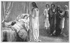Image result for Sunday Gospel raising of Jairus daughter
