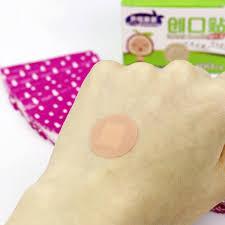 Mini <b>Round</b> Disposable Medical Adhesive <b>Bandage Band aid</b> ...