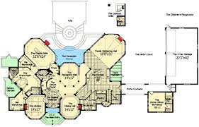 French Chateau to Call Your Own   HD   st Floor Master Suite    Floor Plan