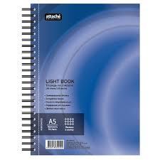 <b>Бизнес</b>-<b>тетрадь Attache Selection LightBook</b> А5, в клетку на ...