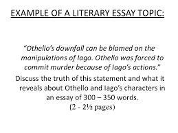 essay topics for othello goodnodnsca