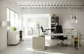 modern home office design with comfortable nuance modern wall art plus wood tile floor or cool office space idea funky