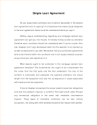 doc sample of loan agreement letter loan agreement 3 simple loan agreement template sample of loan agreement letter
