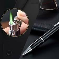 <b>Portable Metal</b> Adjustable Straight Flame <b>Windproof Gas</b> Ball Point ...