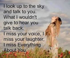 I miss everything about you love quotes quote miss you sad death ... via Relatably.com