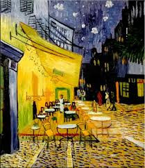 Unknown - <b>Café terrace at</b> night (after Vincent Van Gogh ) - Café ...