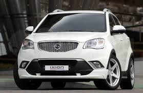 Тюнинг-<b>обвес</b> «Ixion Design» для автомобилей Ssangyong Actyon ...