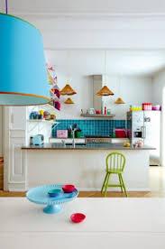 ideas colorful kitchen