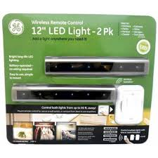 ge led light 12 wireless remote control 2pk under counter fixtures amazoncom cabinet lighting 2
