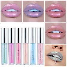 HANDAIYAN <b>6 Color Lip</b> Gloss Shining Glitter Long Lasting ...