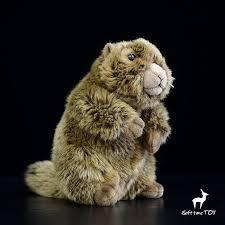 <b>Simulation</b> Stuffed Animals Toy <b>Groundhog</b> Doll Children Gifts Plush ...