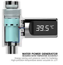 【】Loskii <b>LW</b>-<b>101 LED</b> Display Home Water Flow Self-Generating ...