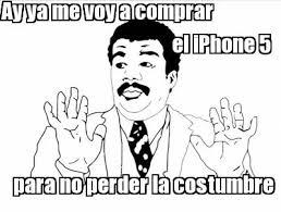 Los mejores memes del iPhone 5 | Dando Clics! via Relatably.com