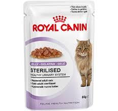 Влажный корм (<b>паучи</b>) <b>Роял Канин</b> для стерилизованных кошек ...