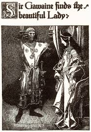 gawain sir gawaine finds the beautiful lady by howard pyle from the story of king arthur and his knights 1903
