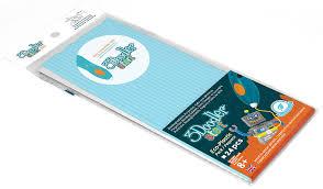 <b>Эко</b>-<b>пластик к</b> 3Д ручке START Голубой 24 шт. 3DOODLER ...