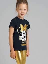 <b>Комплект</b>: футболка, <b>леггинсы</b> для девочки PlayToday 32042621 ...