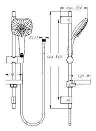 Душевой набор (гарнитур) <b>Ideal STANDARD</b> Ceraplan III B1118AA