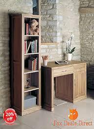 baumhaus bookcase mobel solid oak collection tall narrow assembled furniture baumhaus hidden home office 2 door cabinet