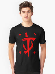 """<b>Mark</b> of the <b>Doom</b> Slayer - Red"" <b>T</b>-<b>shirt</b> by supanerd01 | Redbubble"