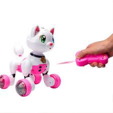 <b>Радиоуправляемая интерактивная кошка CS</b> TOYS Cindy - MG013