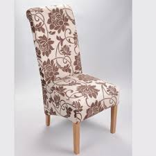 dining chair hbn highbackdiningchair: shankar mia floral fabric dining chairs mia dcf