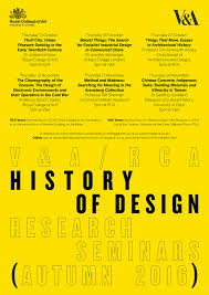 history of design research seminar series royal college of art history of design research seminars poster