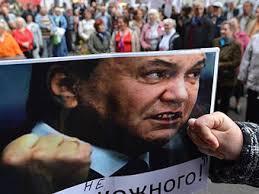 Янукович движется вниз, а не на Восток или Запад. Понимает ли он это, я не знаю, - глава МИД Швеции - Цензор.НЕТ 222