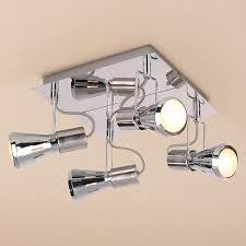 <b>CITILUX CL527541</b> Подсветка <b>МАРС</b> 4x60W E14 хром купить в ...