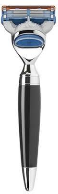 <b>Бритва Черная смола</b> Muehle Modern Stylo <b>Gillette</b> Fusion
