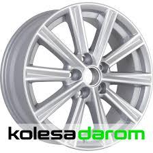 <b>КиК КС 624</b> (<b>Toyota</b> Camry V5) 7x17/5x114.3 D60.1 ET45 Silver ...