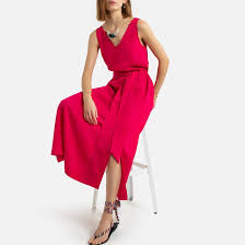 <b>Платье</b> без рукавов <b>длинное</b> из лиоцелла <b>La Redoute</b> Collections ...