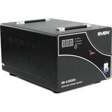 <b>Стабилизатор напряжения SVEN VR-A 10000</b> Черный — купить ...