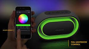 <b>Creative</b> Halo - Wireless <b>Bluetooth Speaker</b> with 16.8 million colors ...